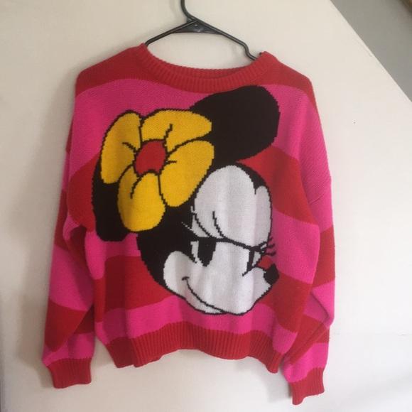 db64557ad Vintage Sweaters   Minnie Mouse Sweater   Poshmark